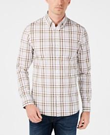 Michael Kors Men's Camden Stretch Plaid Shirt