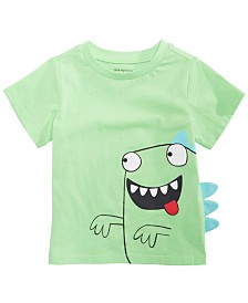 First Impressions Baby Boys Crazy Monster Graphic T-Shirt, Created for Macy's
