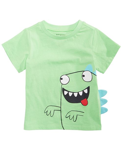 First Impressions Toddler Boys Crazy Monster Graphic T-Shirt, Created for Macy's