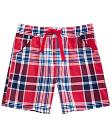 First Impressions Toddler Plaid Shorts, Created for Macy's