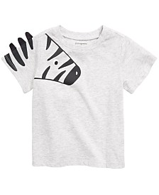 First Impressions Baby Boys Zebra Graphic T-Shirt, Created for Macy's