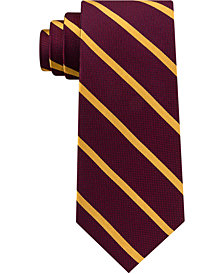 Club Room Men's Single Stripe Silk Tie, Created for Macy's