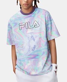 Fila Men's Iridescent Rowan Logo T-Shirt