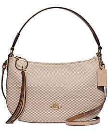 COACH Legacy Jacquard Sutton Crossbody