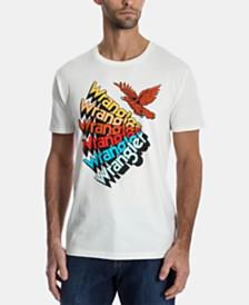 Wrangler Men's Fanned Logo T-Shirt