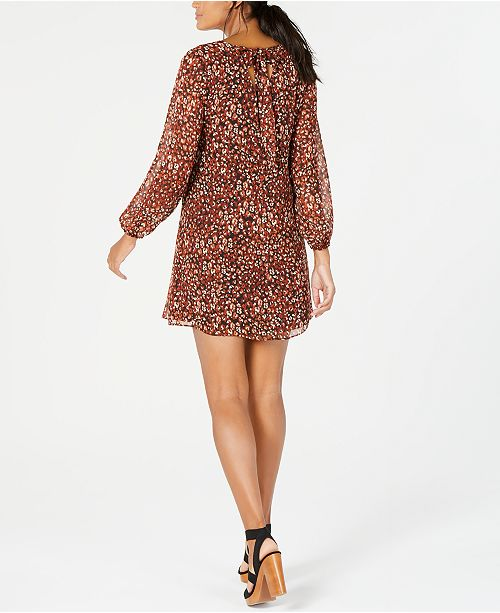a306983574f1 ... INC International Concepts I.N.C. Printed Bow-Back Shift Dress, Created  for Macy's ...
