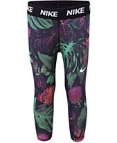 76098e58aa72c Nike Toddler Girls Botanical-Print Dri-FIT Capri Leggings