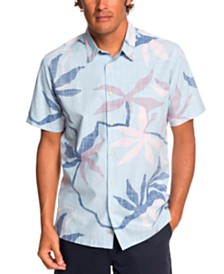 Quiksilver Waterman Men's Gully Floral Shirt