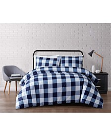 Everyday Buffalo Plaid King Duvet Set