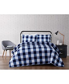 Truly Soft Everyday Buffalo Plaid Quilt Set Collection