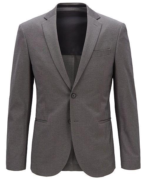 Hugo Boss BOSS Men's Slim Fit Micro-Patterned Jacket