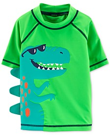 Baby Boys Dino Spike Rash Guard