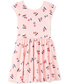 efea9560e Carter's Toddler Girls Cherry-Print Dress