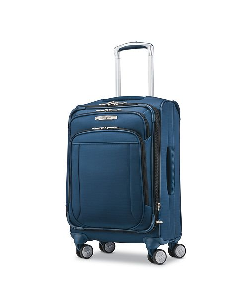 ff75c382 ... Samsonite Lite-Air DLX Carry-On Expandable Spinner Suitcase, Created  for Macy's ...