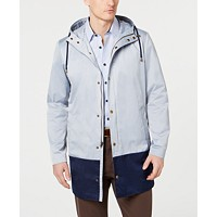 Deals on Lauren Ralph Lauren Men's Classic-Fit Colorblocked Raincoat