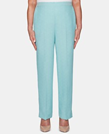 Alfred Dunner Versailles Straight-Leg Pull-On Pants