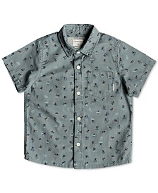 Quiksilver Little Boys Surfer Graphic Shirt