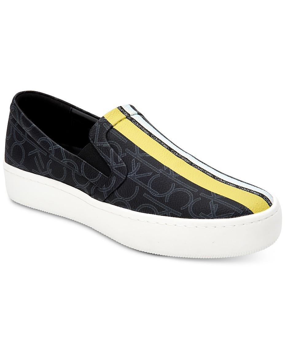 Calvin Klein Women'S Chantell Sneakers & Reviews Athletic Calvin Klein Slip On Shoes Womens