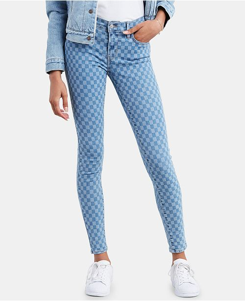 Levi's 710 Printed Super Skinny Jeans