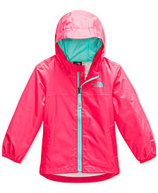 The North Face Toddler Girls Zipline Hooded Rain Jacket