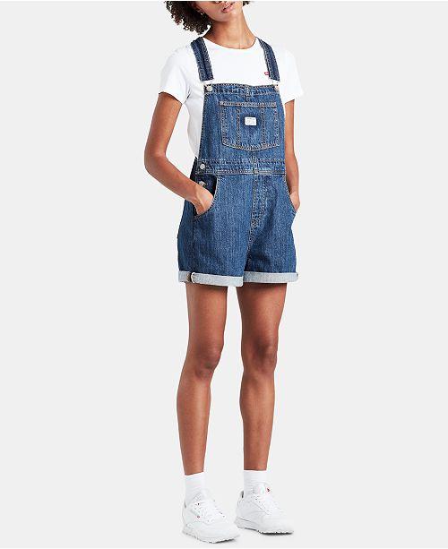 Levi's Cotton Denim Shortalls
