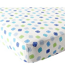 Luvable Friends Fitted Pack and Play Sheet, One Size