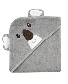Animal Face Hooded Towel, One Size