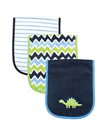 Luvable Friends Burp Cloth, 3-Pack, One Size