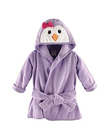 Animal Face Bathrobe, 0-9 Months