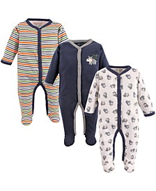Sleep and Play, 3-Pack, 0-9 Months