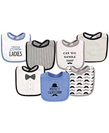 Drooler Bibs, 7-Pack, One Size
