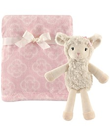 Plush Blanket and Toy, 2-Piece Set, One Size