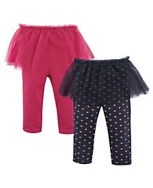 Tutu Leggings, 2-Pack, 0-24 Months