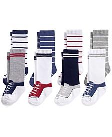 Knee High Socks, 8-Pack, 0-24 Months