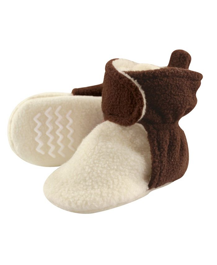 Hudson Baby - - Toddler Boys and Girls Cozy Fleece Booties