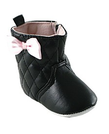 Quilted Boots, 0-18 Months
