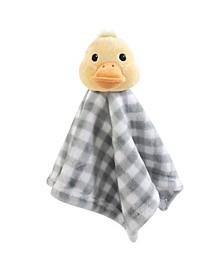 Hudson Baby Animal Friend Plushy Security Blanket, One Size