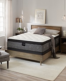 "by Serta  Resort 13"" Plush Euro Pillow Top Mattress Set - Queen, Created for Macy's"