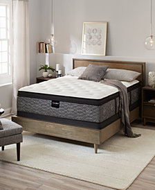 """MacyBed by Serta  Elite 14.5"""" Plush Euro Pillow Top Mattress Collection, Created for Macy's"""