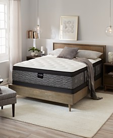 "MacyBed by Serta  Resort 13"" Firm Euro Pillow Top Mattress Set - Queen, Created for Macy's"