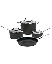 Non-Stick Hard Anodized 7-Pc. Cookware Set