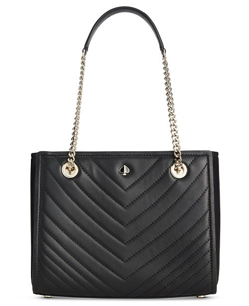 08e9ca417 ... kate spade new york Amelia Quilted Leather Small Leather Tote ...
