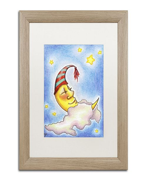 "Trademark Global Jennifer Nilsson Sweet Dreams to You Matted Framed Art - 14"" x 19"" x 2"""