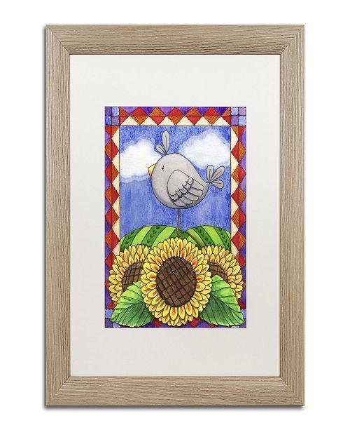 "Trademark Global Jennifer Nilsson Country Charm Matted Framed Art - 16"" x 20"" x 0.5"""