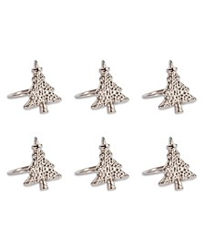 Christmas Tree Napkin Ring, Set of 6