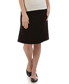 YALA Staci Knee-Length A-Line Viscose from Bamboo Skirt