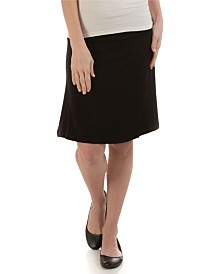 YALA Staci Knee-Length A-Line Viscose from Bamboo Skirt