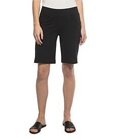 YALA Robyn Organic Cotton and Viscose from Bamboo Pull-on Bermuda Short