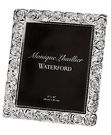 """Monique Lhuillier Waterford Picture Frame, Sunday Rose 8"""" x 10"""""""
