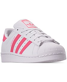 Girls' Originals Superstar Sneakers from Finish Line